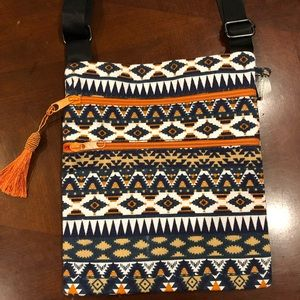 Tribal crossbody